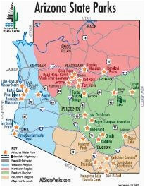 Map Of Arizona Destinations.A Map Of Arizona State 609 Best Authentic Arizona Images