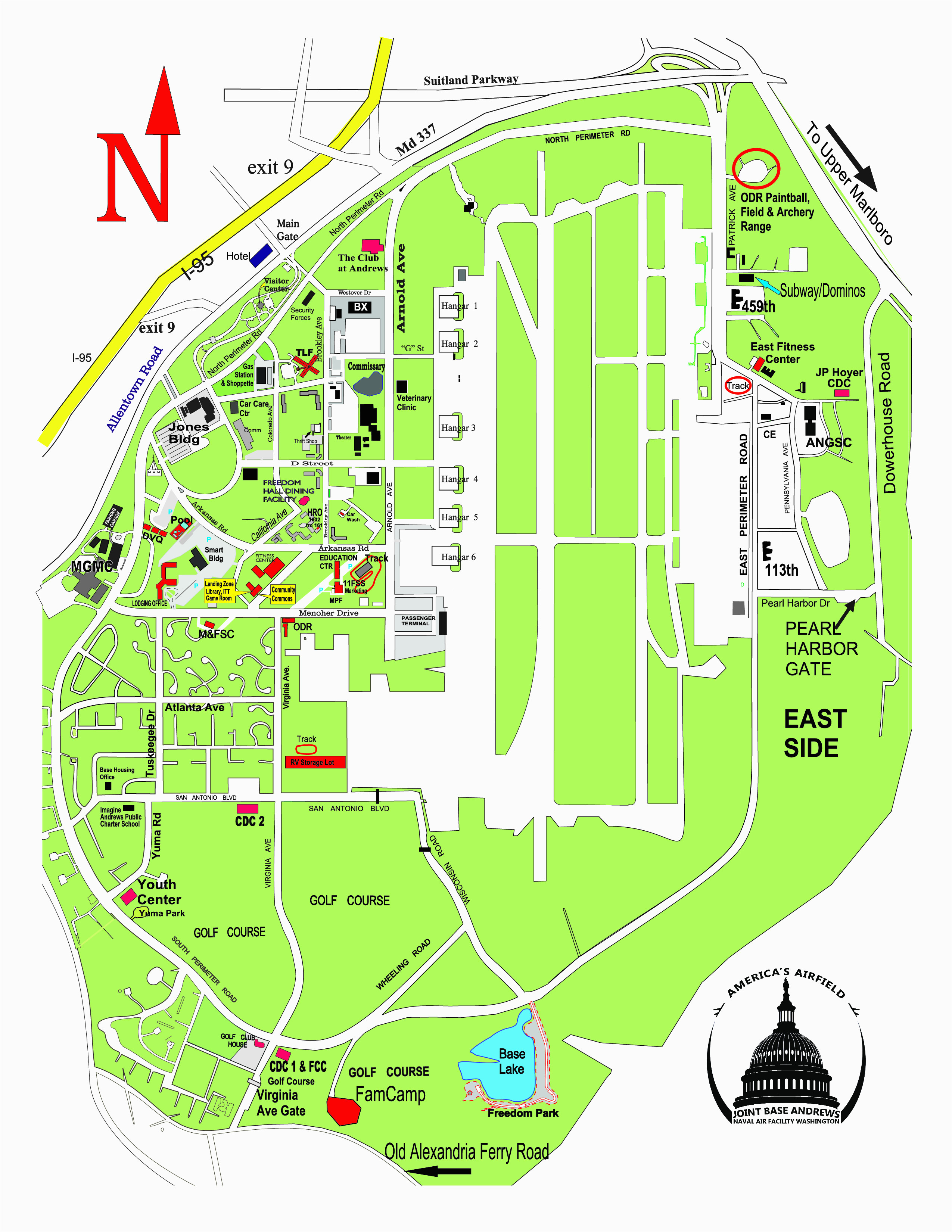 air force bases map lovely williams air force base maps directions