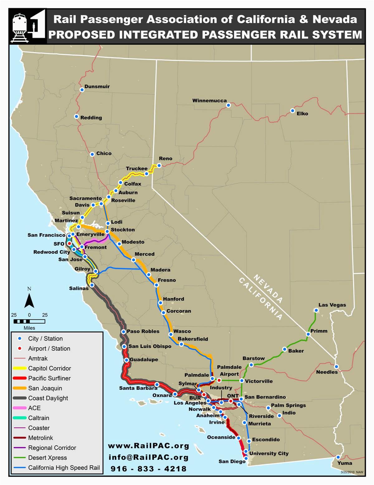 california amtrak route map www bilderbeste com