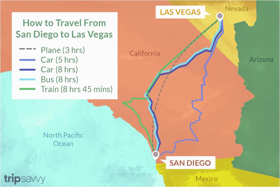 san diego to las vegas 4 ways to travel