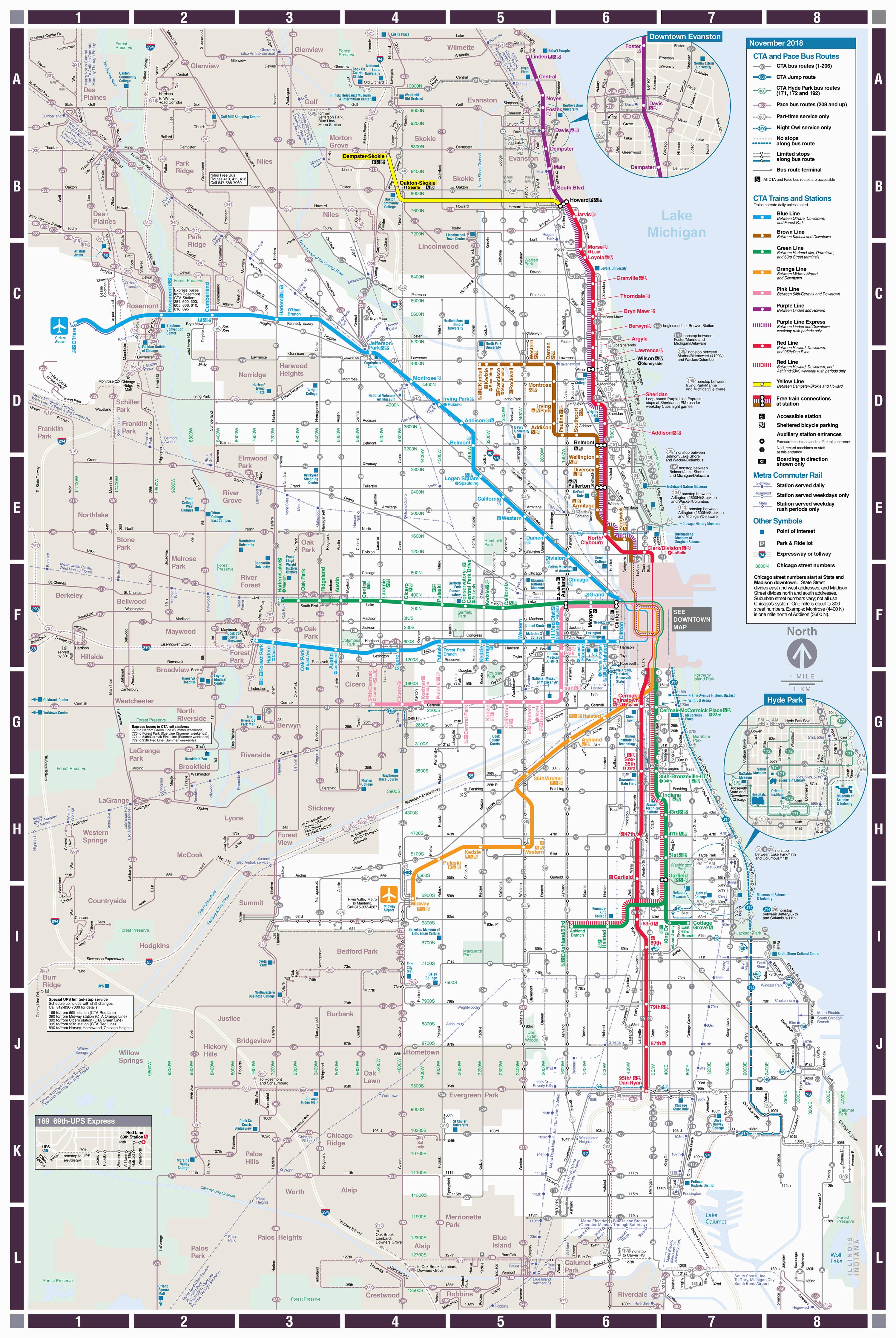 web based system map cta