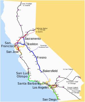 amtrak california wikivisually