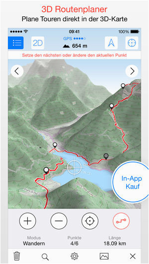 maps 3d outdoor gps im app store