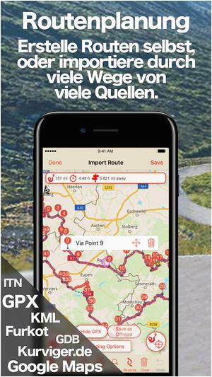 scenic motorrad touring im app store