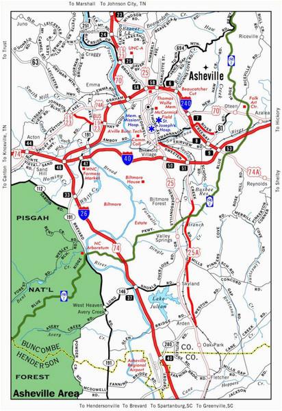 Arden north Carolina Map asheville Nc tourist Map asheville north Carolina Mappery Amazing