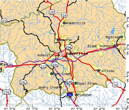 asheville nc tourist map asheville north carolina mappery amazing