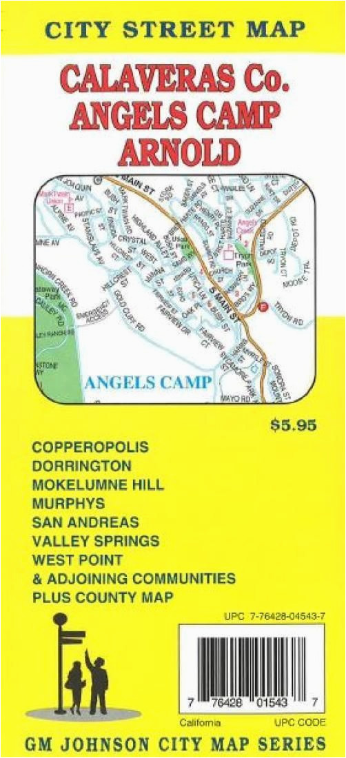 calaveras county angels camp and arnold california by gm johnson
