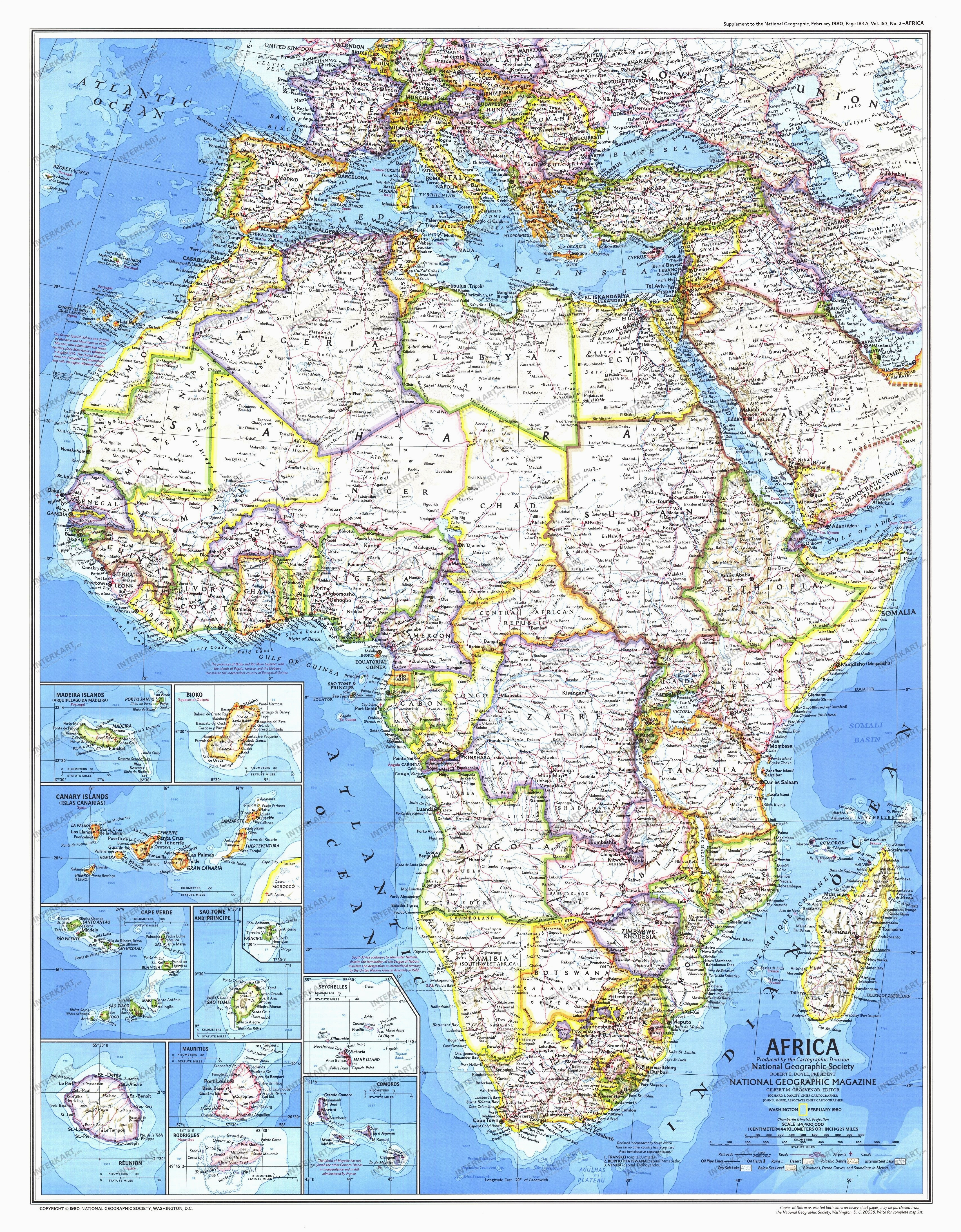 1980 africa map historical maps