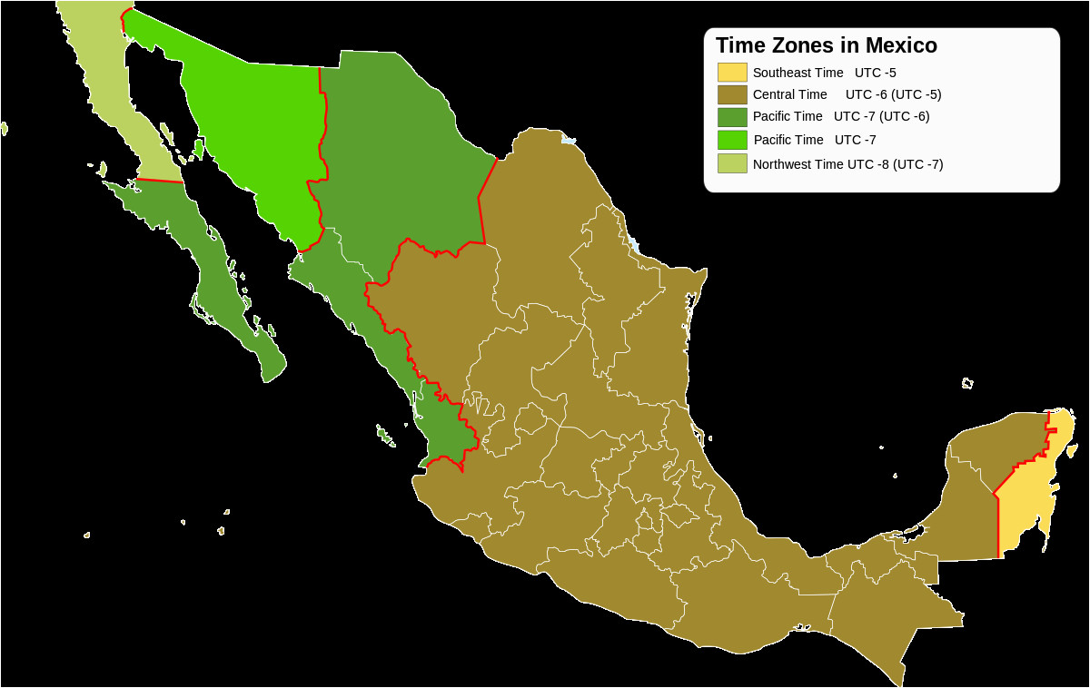 time in mexico wikipedia