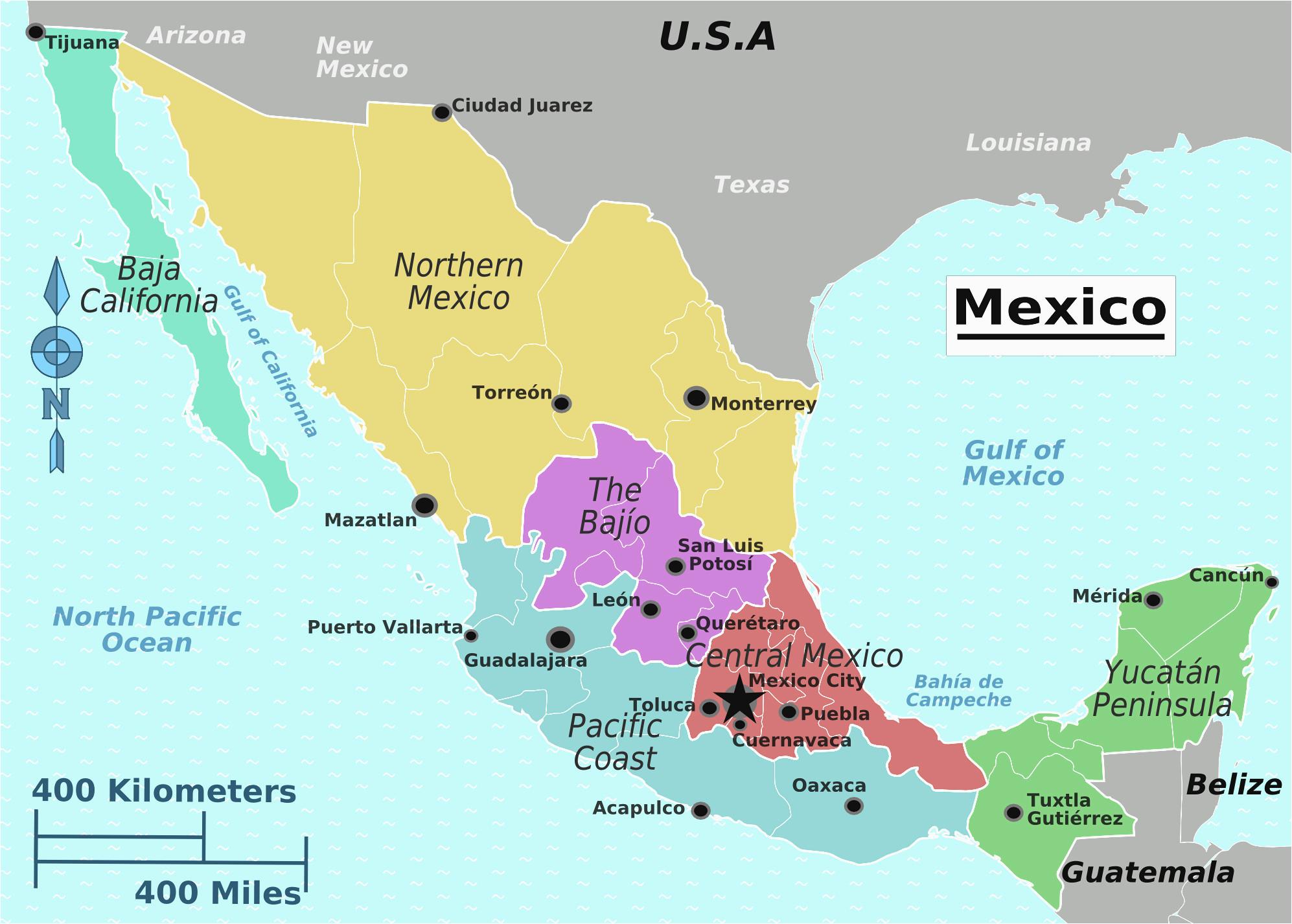 Baja California Peninsula Map Baja California Peninsula Map ...
