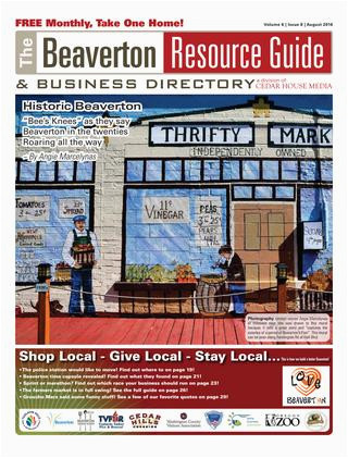 Beaverton Colorado Map Brg August 2016 by Beaverton Resource Guide issuu