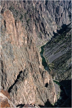 pulpit rock overlook black canyon of the gunnison national park