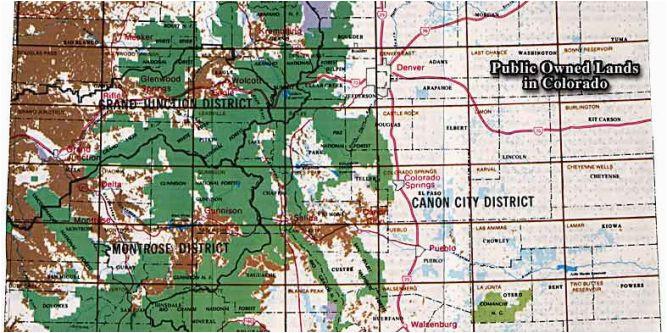 colorado blm map maps directions