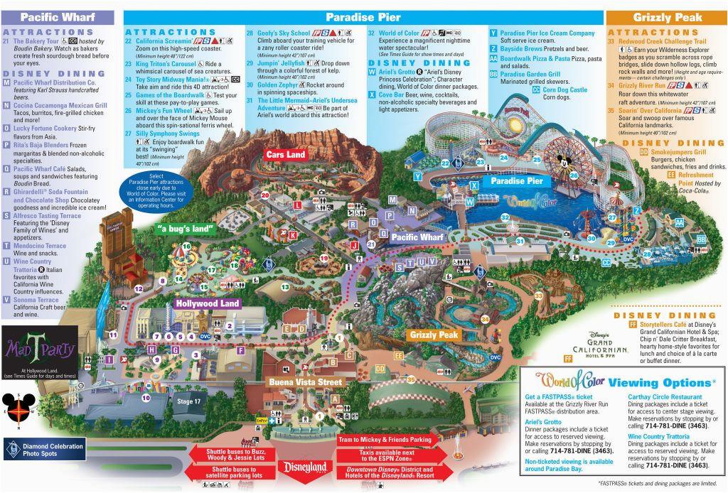 map of disneyland california adventure park massivegroove com