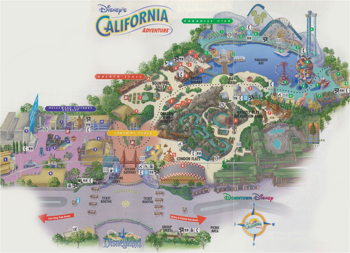 California Adventures Map Lost Legends How California Adventure S One soarin Success Spread