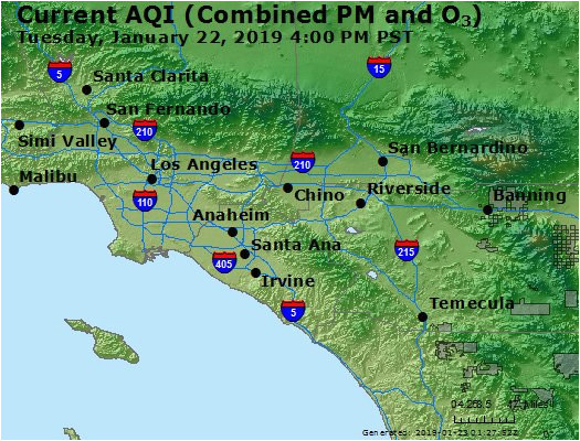airnow central la co ca air quality