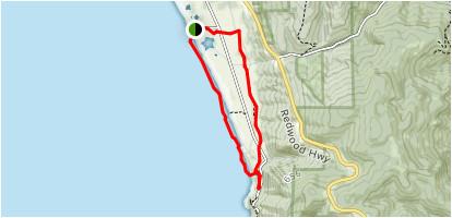 coastal trail crescent beach section loop california alltrails