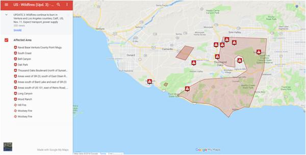 southern california wildfires november 2018 worldaware