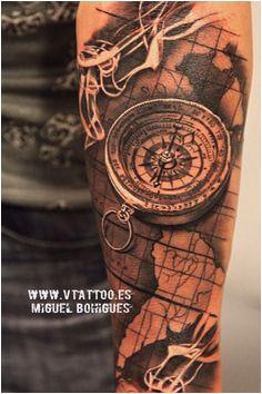 11 best compass map tattoo images map tattoos tattoo clock arm