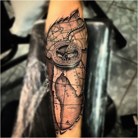 compass tattoo symbolism meaning gives true direction d d n n