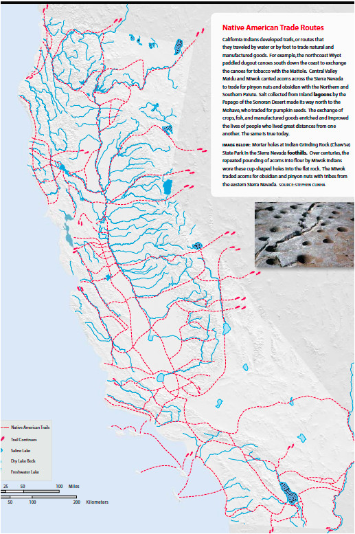 California Map with Missions Walk California S El Camino Real ... on