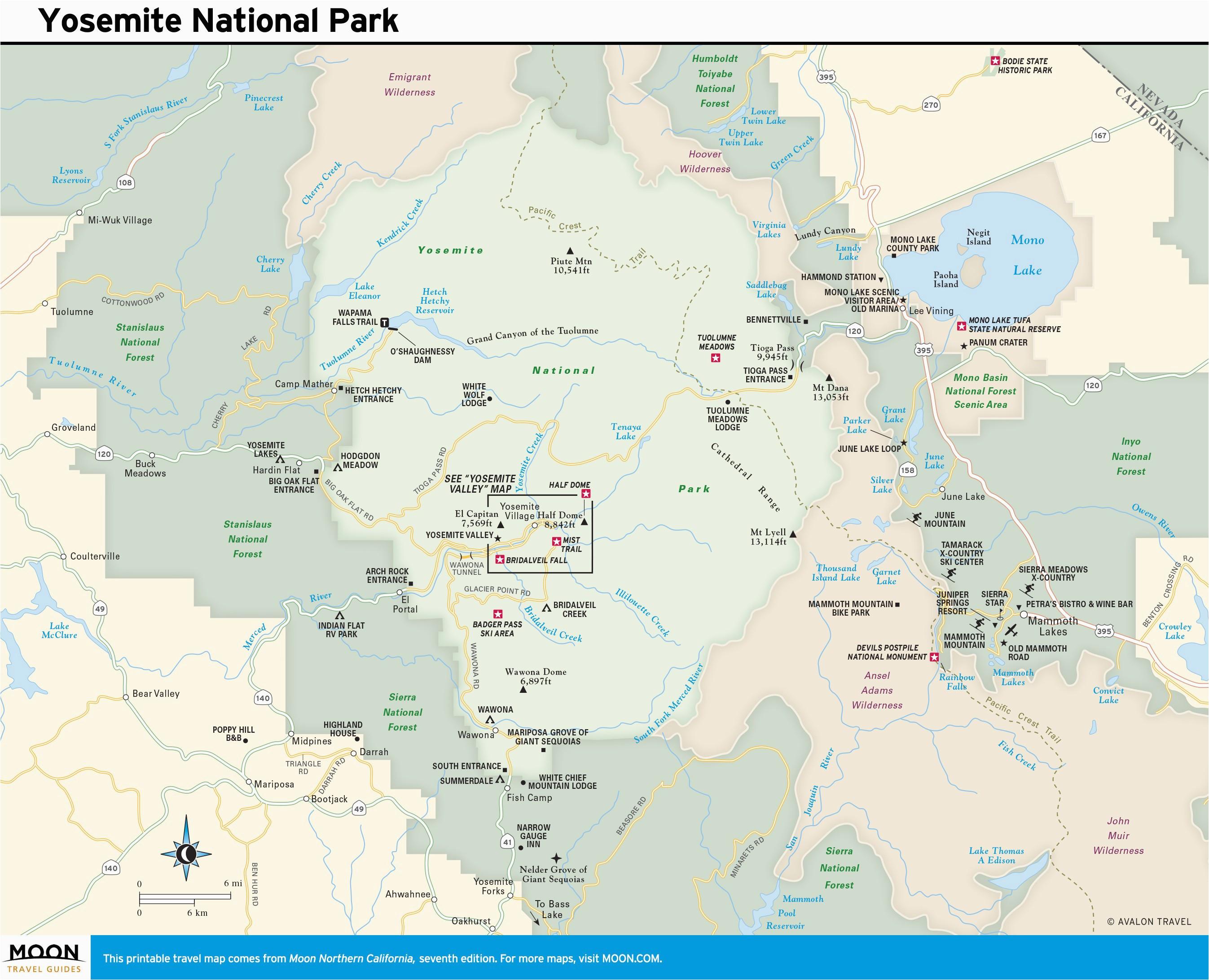 California Physical Features Map | secretmuseum