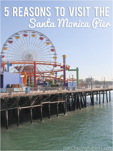 5 reasons to visit the santa monica pier the big travel bucket