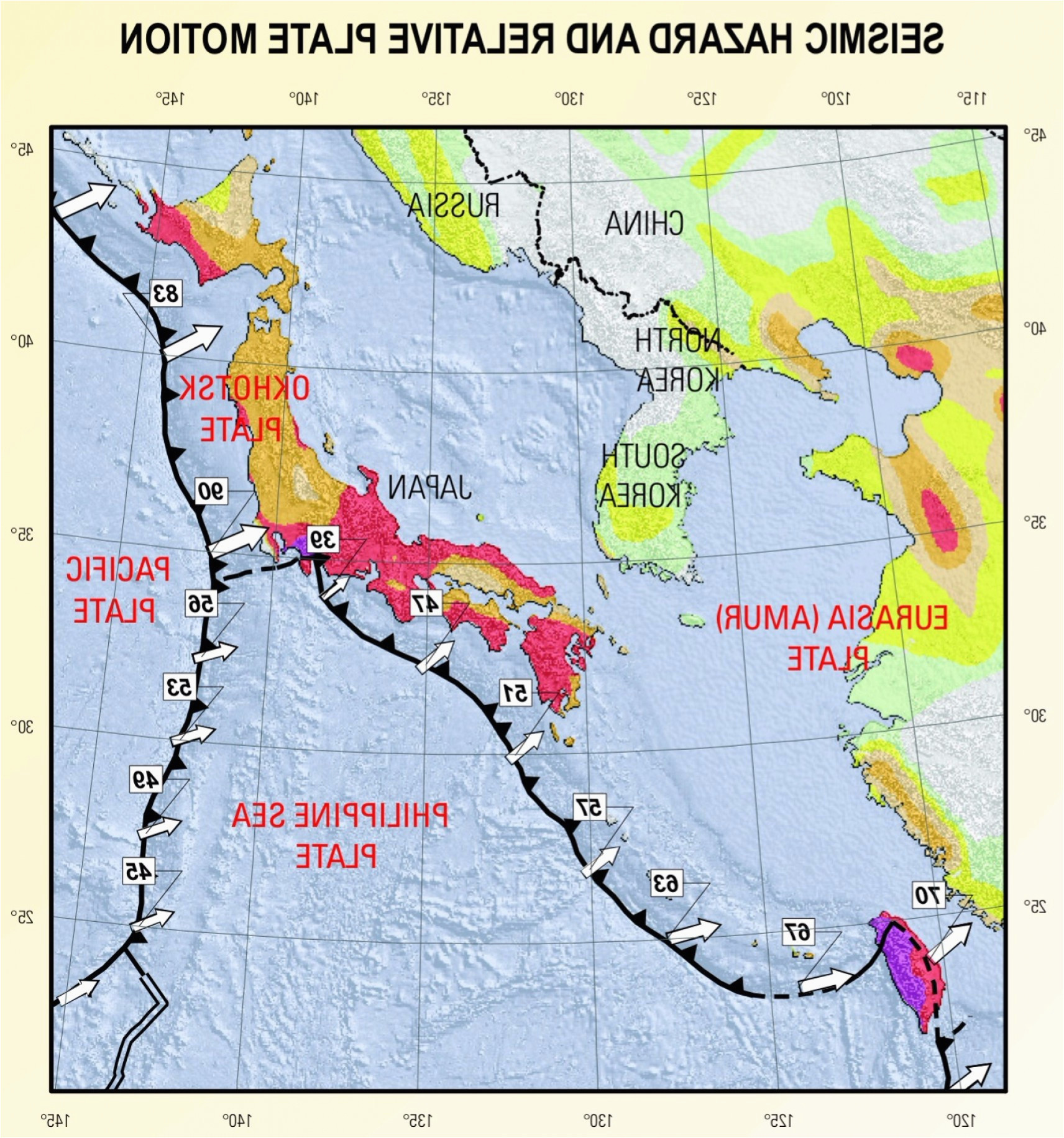 Map Of California Quake.California Quake Map Japan Ring Fire Map Sample Of Recent California