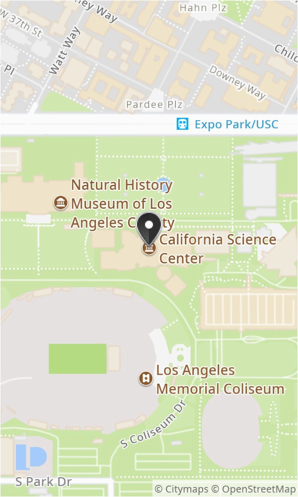 California Science Center Map the 10 Best Restaurants Near ... on