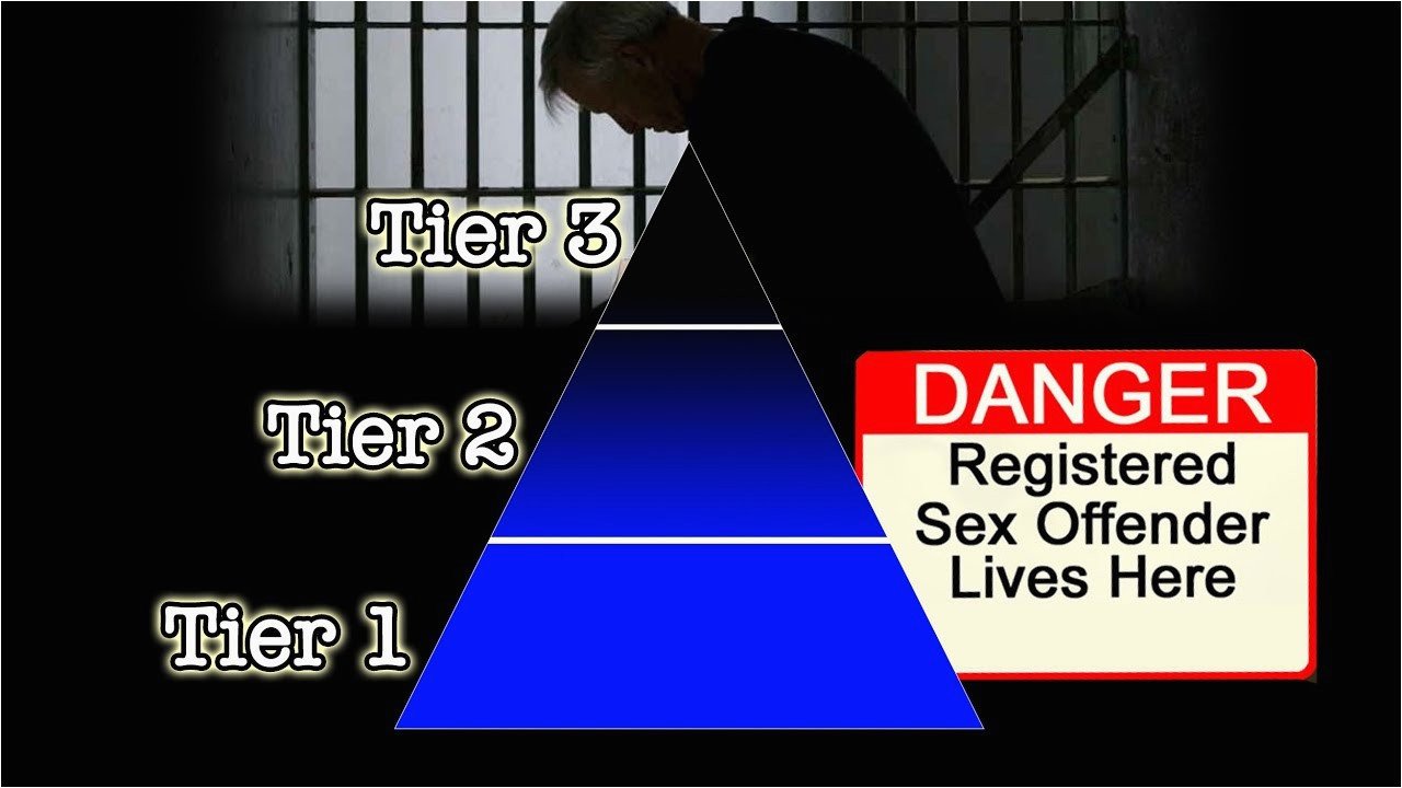sex offender registration in california sb 384 the 3 tiered system