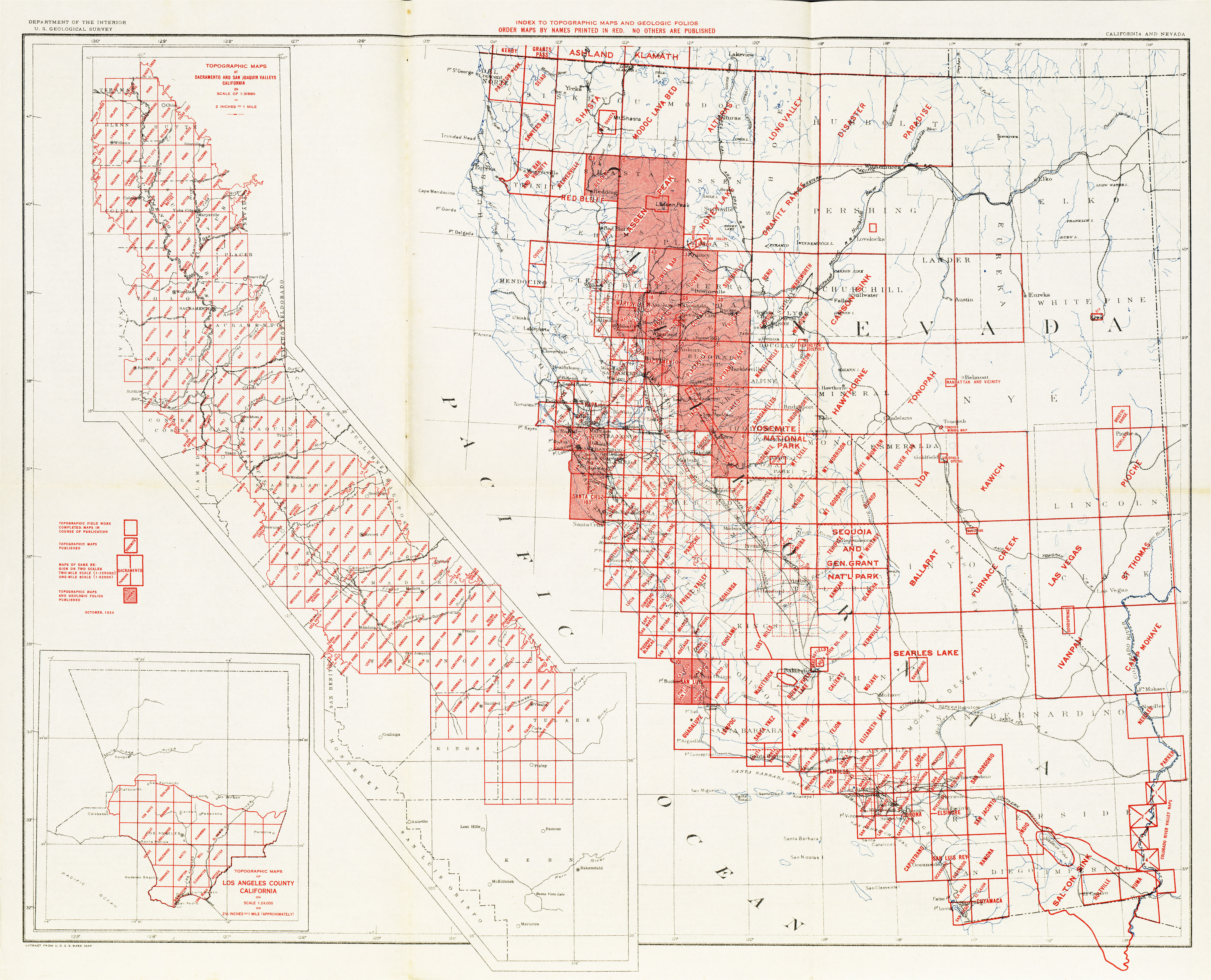 California State Map with Cities and Counties | secretmuseum on