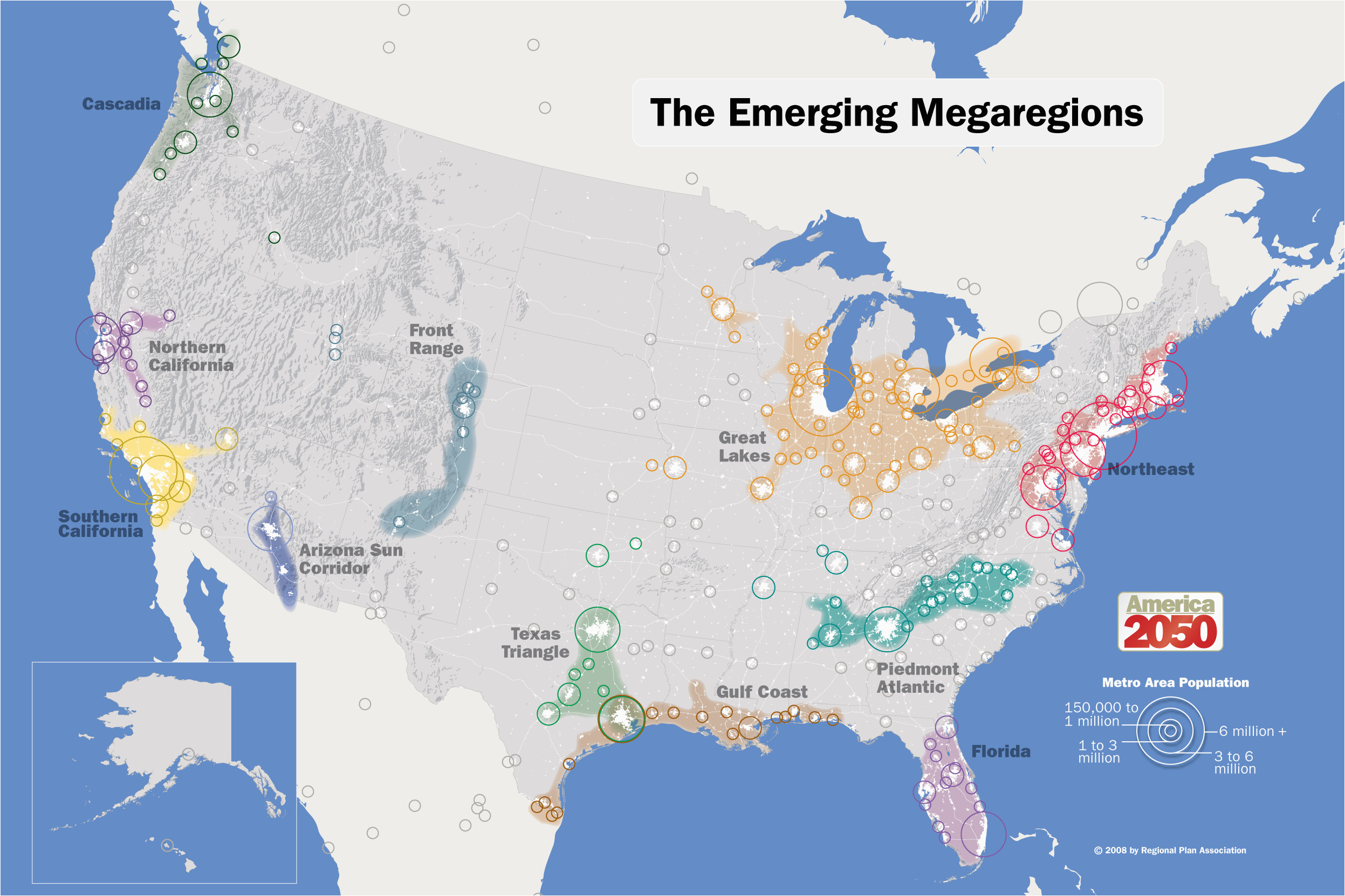 our maps america 2050