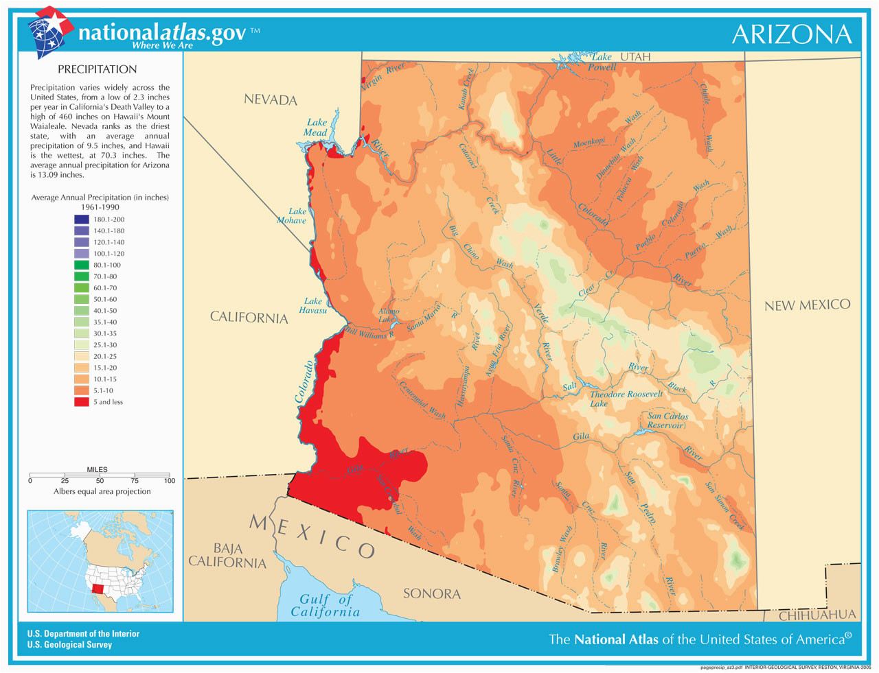 arizona s water uses and sources the arizona experience