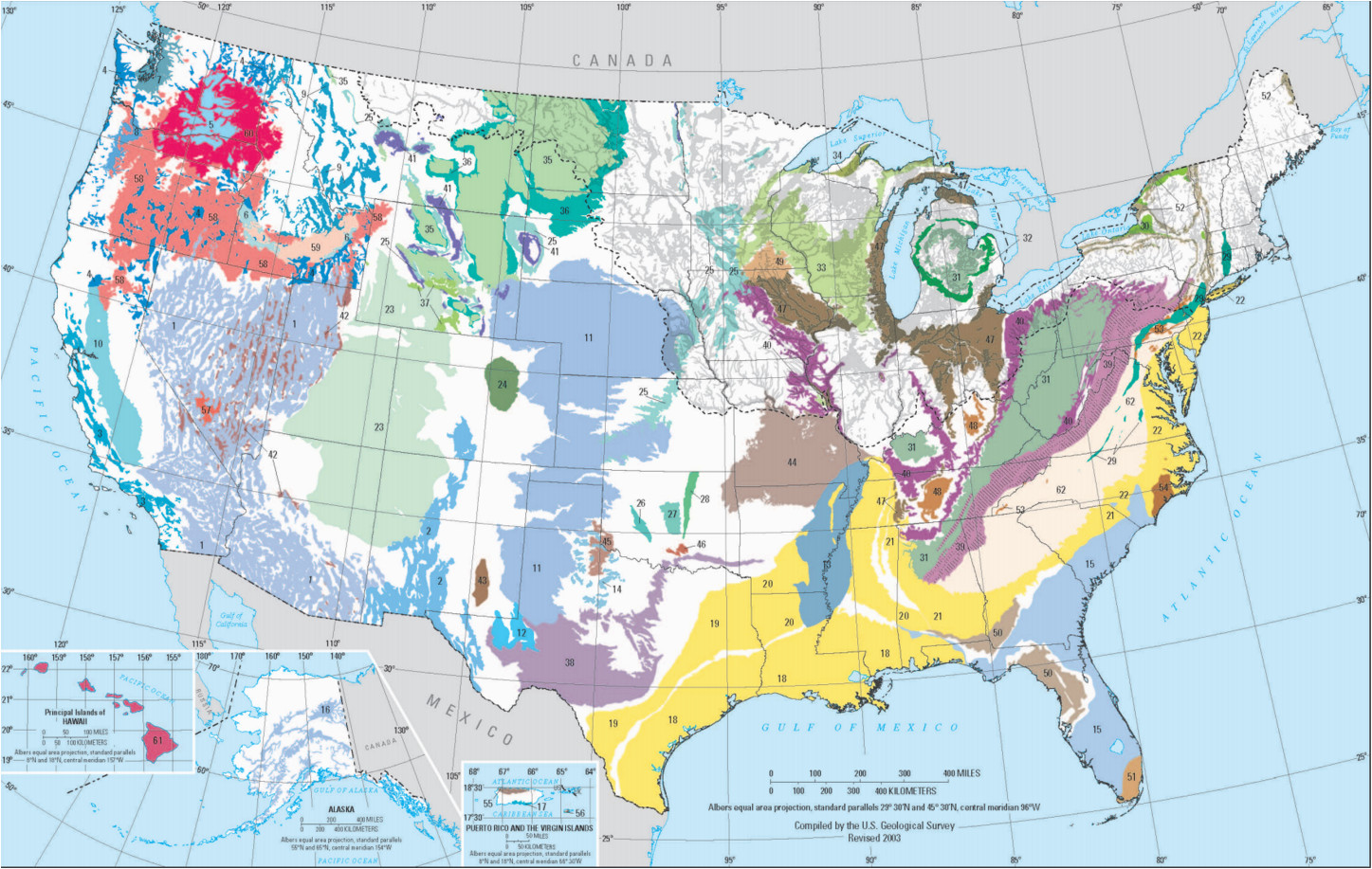 national aquifers of the united states usgs water resources of