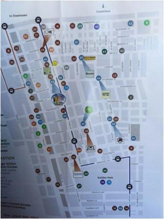 map of german town picture of german village columbus tripadvisor