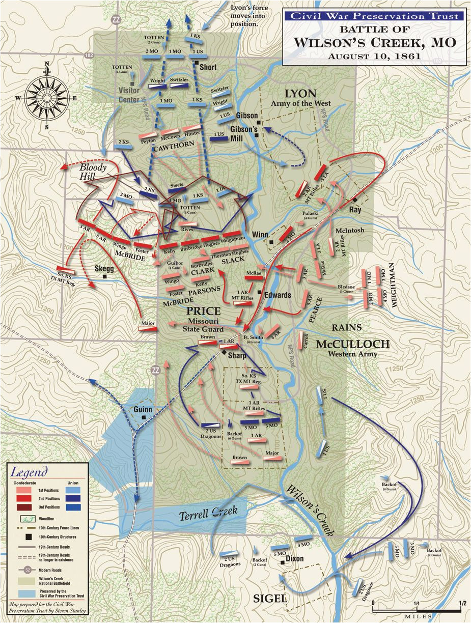 Civil War Battles In Georgia Map | secretmuseum