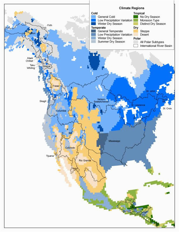 Map Of California Climate Zones.Climate Zone Map California North America Climate Regions Map Us And