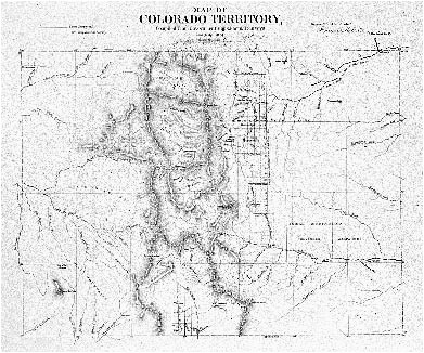 historic trail map of the leadville 1a a 2a quadrangle central colorado