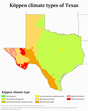 climate of texas wikipedia