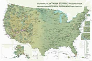 amazon com best maps ever nps x usfs x blm x fws interagency map