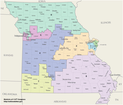 missouri s congressional districts revolvy
