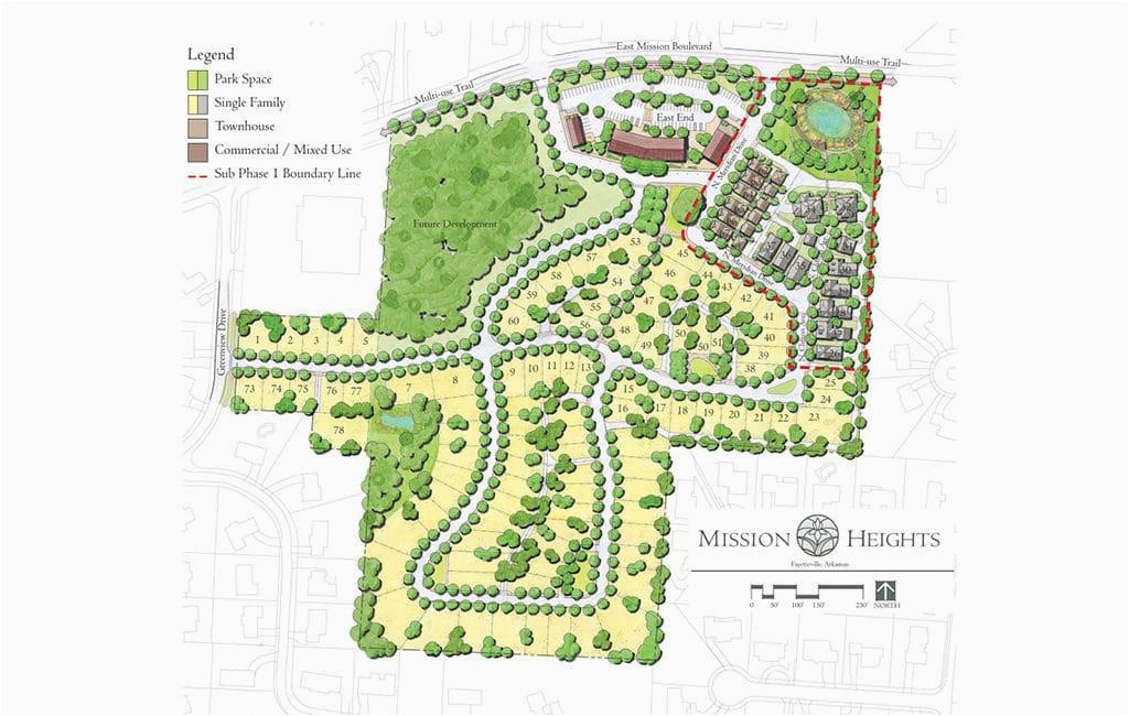 mission heights in fayetteville ar new homes floor plans by