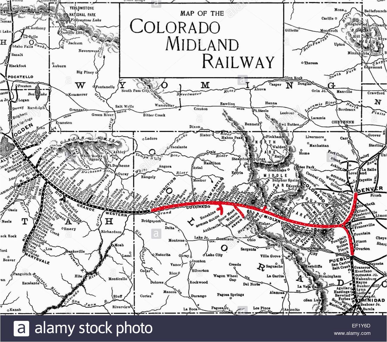 historic railway map stock photos historic railway map stock