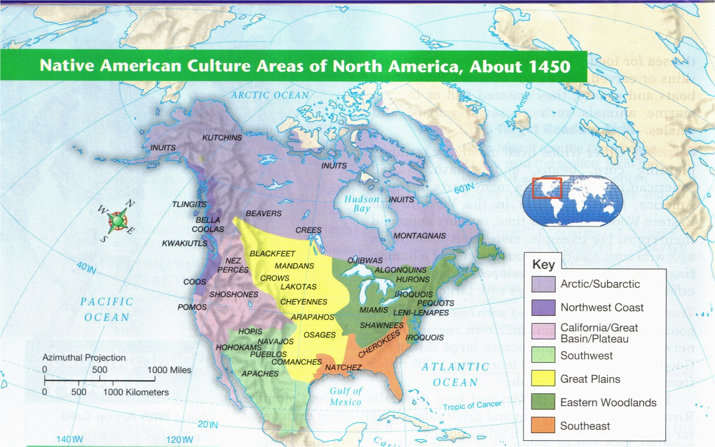 Colorado Native American Tribes Map Map Of Native American Tribes In ...