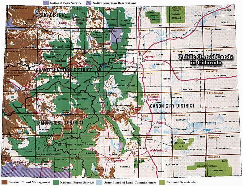 Colorado Public Hunting Land Map Secretmuseum