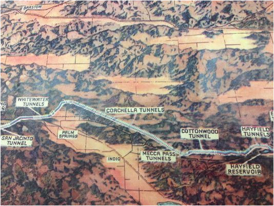aqueduct map coachella valley science images and videos