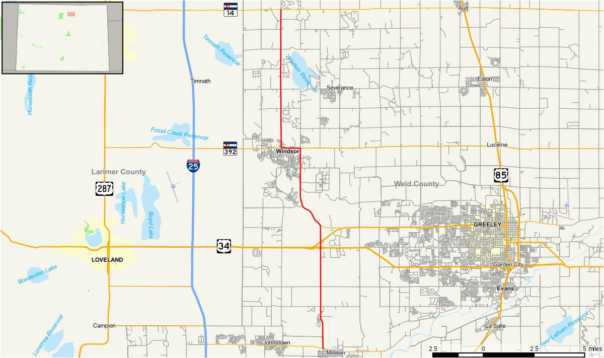 colorado state highway 257 wikipedia