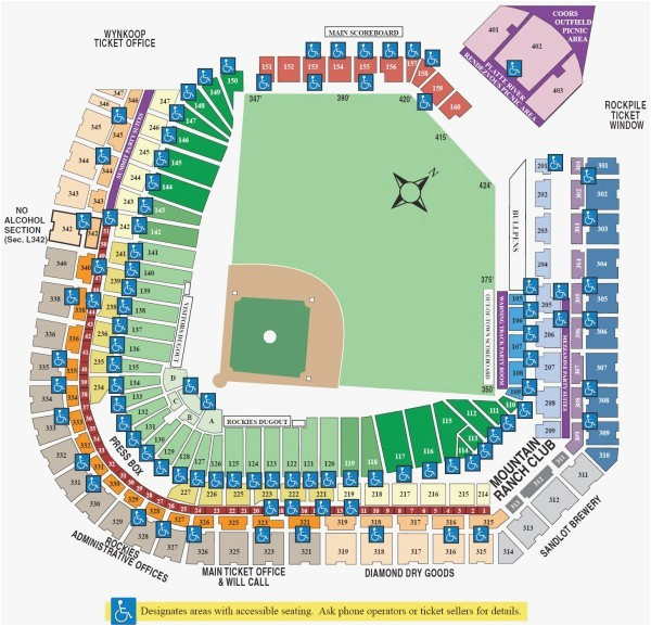 coors field seating map awesome rockies seating chart heartpulsar