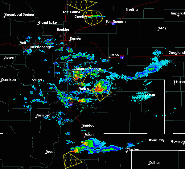 interactive hail maps hail map for colorado springs co