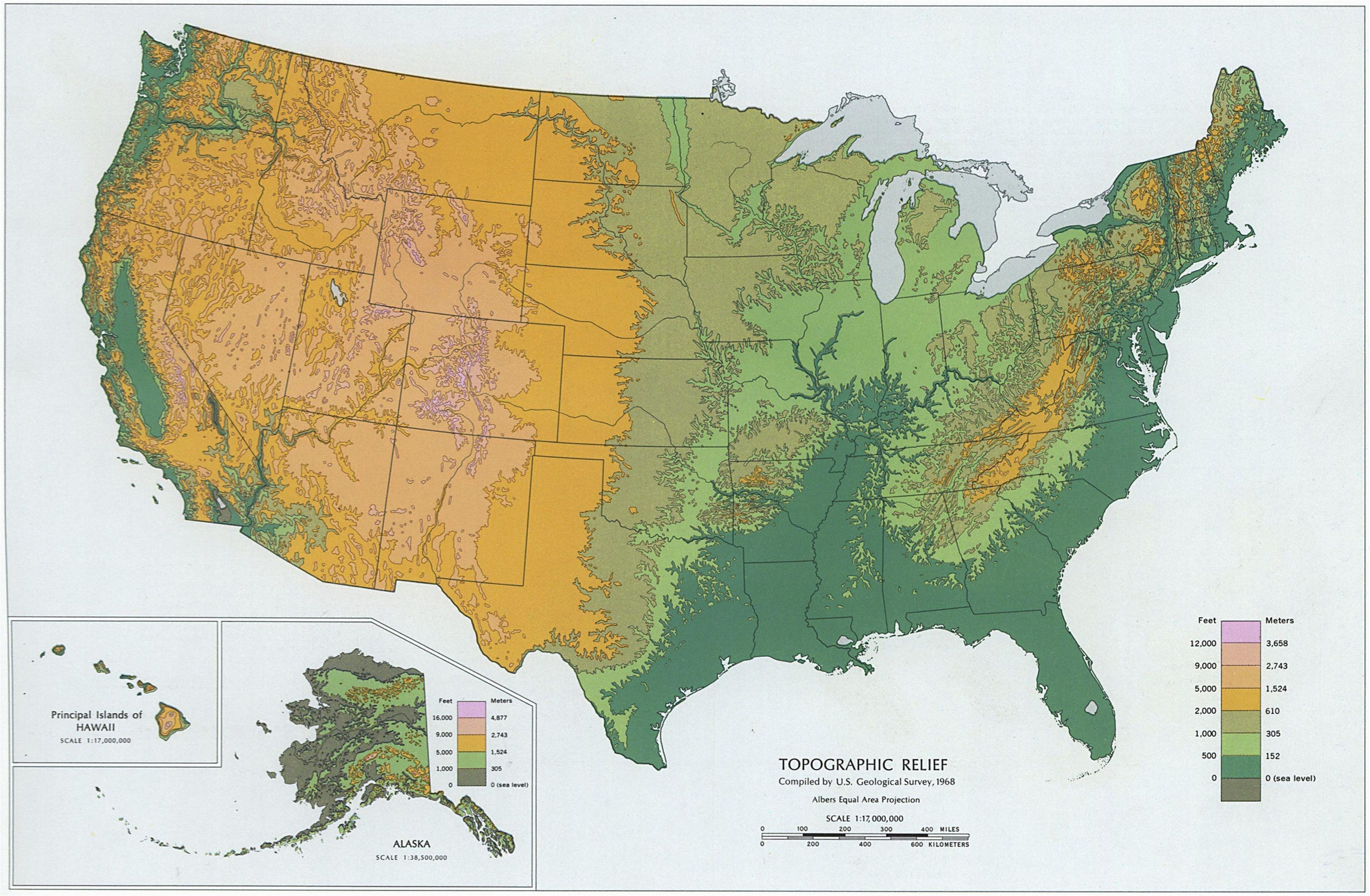 Colorado Springs Topographic Map Northeast Us Elevation Map New - Map-of-eastern-us